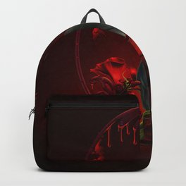 Wonderful crow with roses Backpack