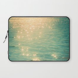 Showering in Sparkling Sunshine Laptop Sleeve