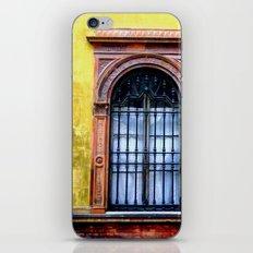 Yellow Window iPhone & iPod Skin