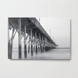 Pier IV Metal Print