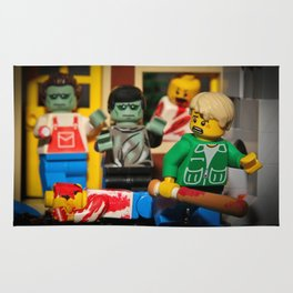 Night of the Lego Dead Rug