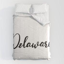 Delaware (DE; Del.) Comforters