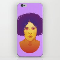 lana iPhone & iPod Skins featuring Lana by Esther Cerga