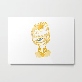 Yolk Metal Print