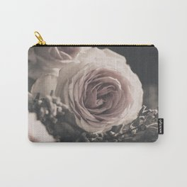 Roses and lavender Carry-All Pouch