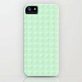 Mint, light green. iPhone Case
