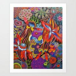 """Friends"" Nudibranch I Art Print"