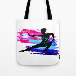 Martial arts, karate, yoga, aikido, judo, athlete Tote Bag