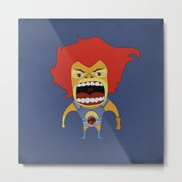 Screaming Lion-O Metal Print