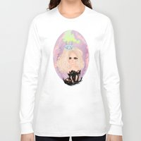 anxiety Long Sleeve T-shirts featuring Anxiety by Victoria Rosas