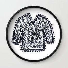 WOOLLY JUMPER - SWEATER TO YOU Wall Clock