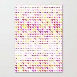 fete triangle pattern Canvas Print