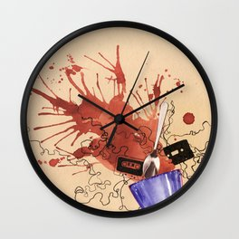 Music Tea Wall Clock