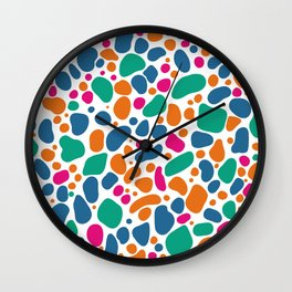 Summer Pebbles Wall Clock