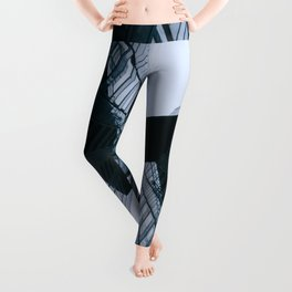 LOW ANGLE PHOTOGRAPHY OF HIGHRISE BUILDING Leggings