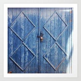 Doors of Perception 24 Art Print