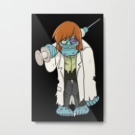 Doctor Zombie | Halloween Horror Metal Print