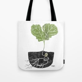Oak Baby Tote Bag