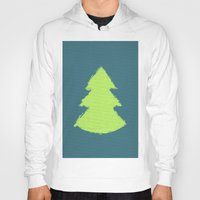 christmas tree Hoodies featuring (Christmas) Tree by Mr & Mrs Quirynen