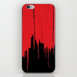 Paint it Red iPhone Skin