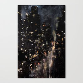 Fifth Avenue, 3 AM Canvas Print
