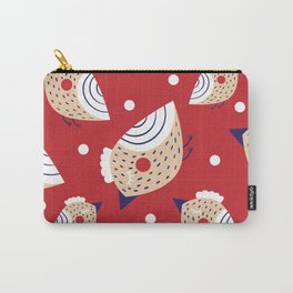 Christmas print Carry-All Pouch
