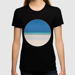 Dreamt Tropical Beach Design T-shirt