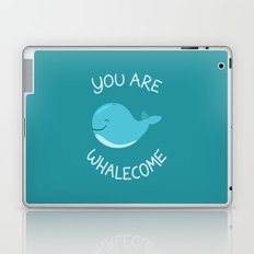 Whale, thank you! Laptop & iPad Skin