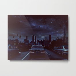 atlanta night Metal Print
