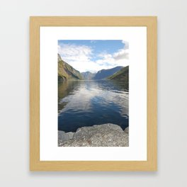 View From The Village Framed Art Print