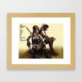 Warriors Framed Art Print
