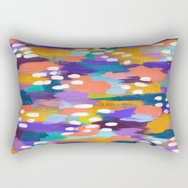 Jules - Abstract Rectangular Pillow