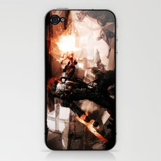 Taking Earth Back iPhone & iPod Skin