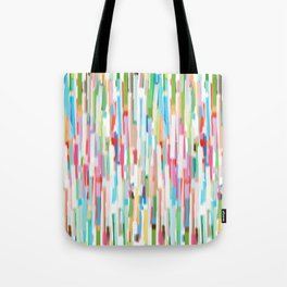 vertical brush strokes  Tote Bag