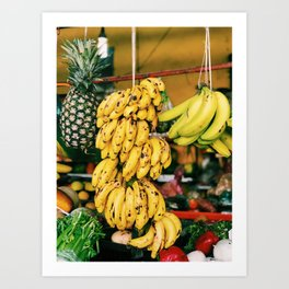 Progresso Fruit Art Print