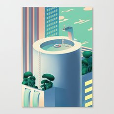 ut-O-pia Canvas Print