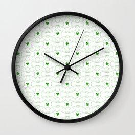 St Patrick Celebration Wall Clock