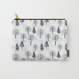 Xmas trees. Winter forest Carry-All Pouch