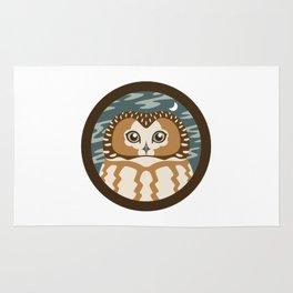 Northern Saw-whet Owl Rug
