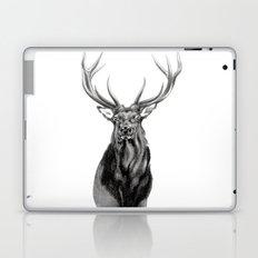 Bull Elk Encounter Laptop & iPad Skin
