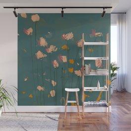 A Field Of Flowers Bloom Wall Mural