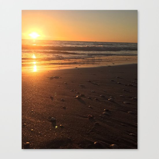 Treasure Island Sunset Canvas Print