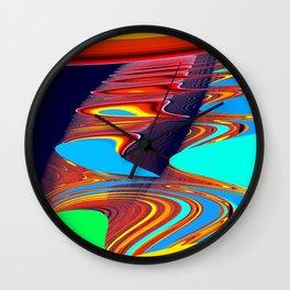 ribs Wall Clock