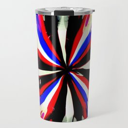 Pattern #6 - Bold Stripes Travel Mug