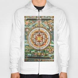 Buddhist Mandala 48 White Tara Hoody
