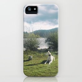 A rest in the reservoir iPhone Case