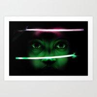 Glow Art Print