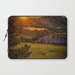 Sunset on the Black Hills Laptop Sleeve