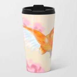 Red Canary Metal Travel Mug