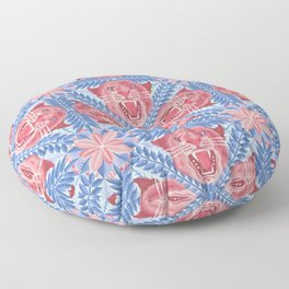 Pink Panther Pattern Floor Pillow